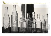 Old Glass Bottles Carry-all Pouch