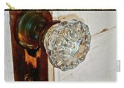 Old Glass Doorknob Carry-all Pouch