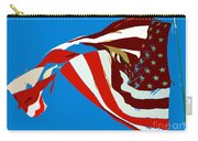 Old Glory Flying Carry-all Pouch
