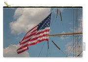 Old Glory Flying Over Eagle Carry-all Pouch