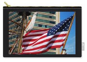Old Glory In Baltimore Carry-all Pouch