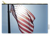 Old Glory - Long May She Wave Carry-all Pouch