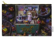 Old Green Toy Box Carry-all Pouch