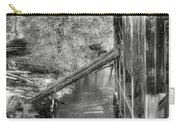 Old Grist Mill Carry-all Pouch by Joann Vitali