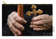 Old Hands And Crucifix  Carry-all Pouch
