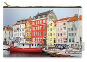 Old Harbour In Copenhagen Carry-all Pouch