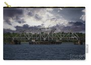 Old Highway 41 Swing Bridge Over The Wando River In Charleston Sc Carry-all Pouch