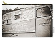 Old Hippie Peace Van Carry-all Pouch