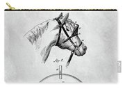Old Horse Blinker Patent Carry-all Pouch
