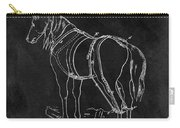 Old Horse Harness Patent  Carry-all Pouch