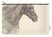 Old Horse (le Vieux Cheval) Carry-all Pouch