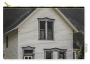 Old House And Dandelions Carry-all Pouch