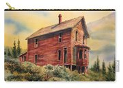 Old House Animas Forks Colorado Carry-all Pouch