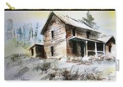 Old House Marysville Ghosttown Montana Carry-all Pouch