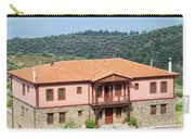 old house Sithonia Greece summer vacation scene Carry-all Pouch