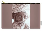 Old Indian Man Carry-all Pouch