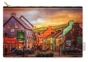 Old Irish Town The Dingle Peninsula Late Sunset Carry-all Pouch