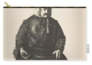Old Irish Woman, First State By George Bellows Carry-all Pouch