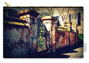 Old Iron Gate In Charleston Sc Carry-all Pouch