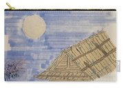 Old Japan At Nightfall Carry-all Pouch