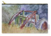 Old John Deere Tractor In The Back 40 Carry-all Pouch