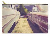 Old Junkyard Cars Chevy And Ford Utah Carry-all Pouch