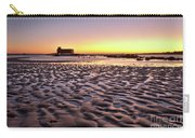 Old Lifesavers Building Covered By Warm Sunset Light Carry-all Pouch