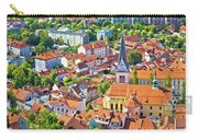 Old Ljubljana Cityscape Aerial View Carry-all Pouch