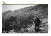 Old Man In Rural Greece Carry-all Pouch