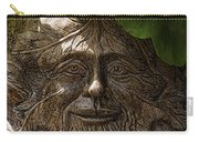 Old Man In The Garden Carry-all Pouch