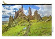 Old Man Of Storr Pinnacles Carry-all Pouch