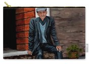 Old Man Waiting Carry-all Pouch