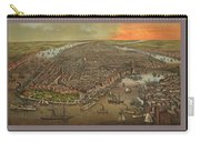 Old Manhattan Historic Illustration Carry-all Pouch