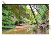 Old Man's Gorge Trail And Caves Hocking Hills Ohio Carry-all Pouch