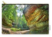 Old Man's Gorge Trail Hocking Hills Ohio Carry-all Pouch