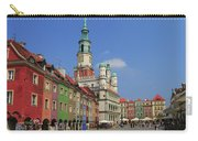 Old Marketplace And The Town Hall Poznan Poland Carry-all Pouch