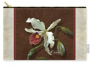 Old Masters Reimagined - Cattleya Orchid Carry-all Pouch