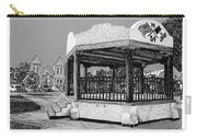 Old Mesilla Plaza And Gazebo Carry-all Pouch by Jack Pumphrey