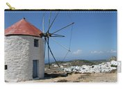 Old Mill In Greece Carry-all Pouch
