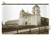 Old Mission Santa Barbara, Cal Circa 1895 Carry-all Pouch