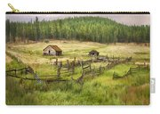 Old Montana Homestead Carry-all Pouch by Sharon Foster