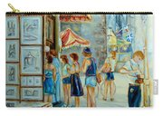 Old Montreal Street Scene Carry-all Pouch