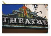 Old Movie Theatre Sign Carry-all Pouch