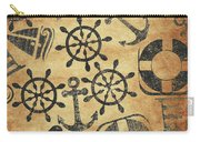 Old Nautical Parchment Carry-all Pouch