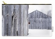 Old New England Barns Winter Carry-all Pouch