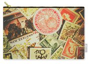 Old New Zealand Stamps Carry-all Pouch