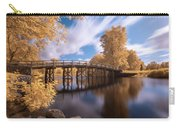 Old North Bridge In Infrared Carry-all Pouch by Brian Hale