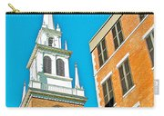 Old North Church Tower In  Boston-massachusetts Carry-all Pouch