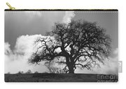 Old Oak Against Cloudy Sky Carry-all Pouch