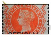 Old Orange Halfpenny Stamp  Carry-all Pouch